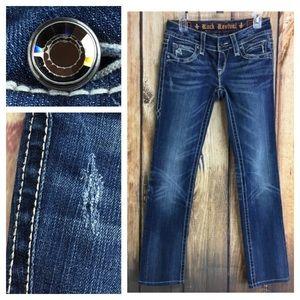 85683a7ca8037e Rock Revival Jeans - 🐞Rock Revival Noelle Straight Leg denim jean